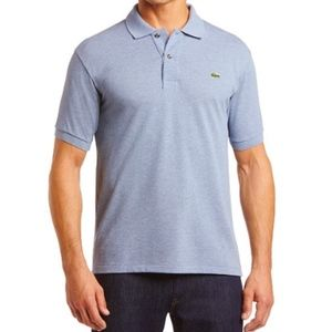 LACOSTE Mens light blue Polo